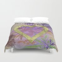 focus Duvet Covers featuring Focus by Keagraphics