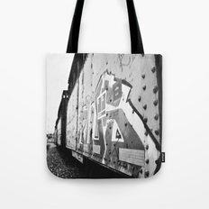 Train car graffiti  Tote Bag