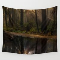 vancouver Wall Tapestries featuring Vancouver Woods by Sierra Whiskey Bravo
