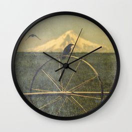 Jefferson Raven II Wall Clock
