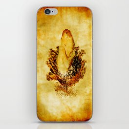 The baby and cabbages flower iPhone Skin