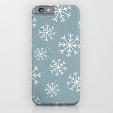 Snow Flakes Winter iPhone 6s Slim Case