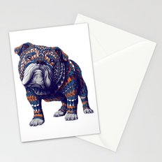 English Bulldog (Color Version) Stationery Cards