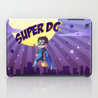 dc comics iPad Cases featuring Super DC by Sunshunes