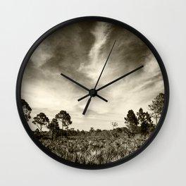 The real Florida  Wall Clock