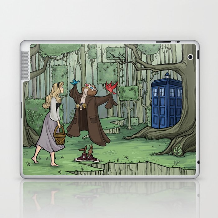 Visions are Seldom all They Seem Laptop & iPad Skin