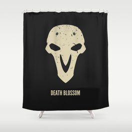 Death Blossom Shower Curtain