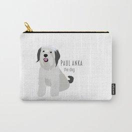 Paul Anka, the dog. Carry-All Pouch