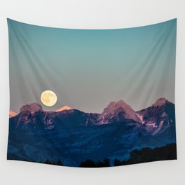 The Rising Moon Wall Tapestry