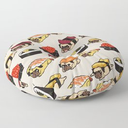 Sushi Pug Floor Pillow