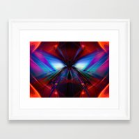 rush Framed Art Prints featuring Rush by Robin Curtiss