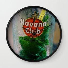 Havana Club Mojito Wall Clock