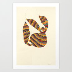 A Trifle High Art Print