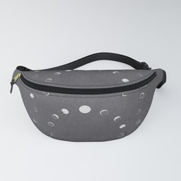 Moon Phase Night Fanny Pack