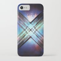 sci fi iPhone & iPod Cases featuring Sci-Fi Shards by Alli Vanes