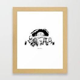 Monty Python: Killer Rabbit Framed Art Print