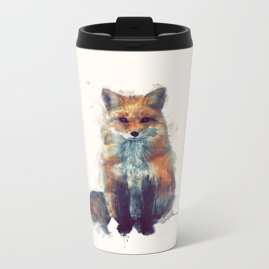 Fox Metal Travel Mug