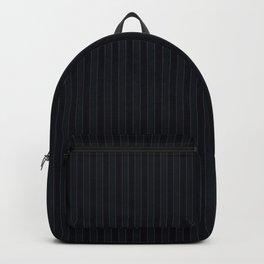 Dark Blue Suit Textile Backpack