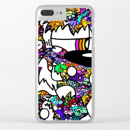 WoolyBooger Joe Clear iPhone Case