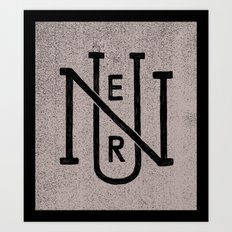 Nuer Art Print