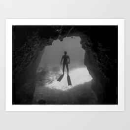Caveman Art Print