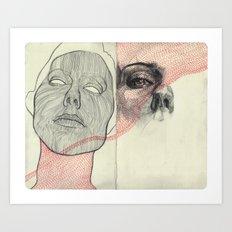 Obscure, Destroy Sketchbook Spread 3 Art Print