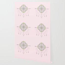 Bohemian Arrow Mandala Wallpaper