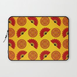 Chinese red gold 2 Laptop Sleeve