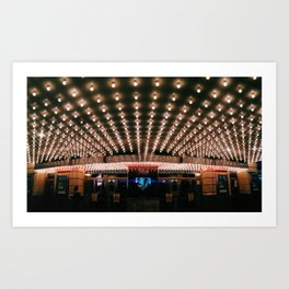 under these lights Art Print