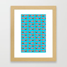 Flappy Bird Tap Framed Art Print