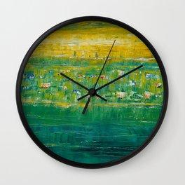 Oregon Has Currents Wall Clock