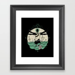 History of Space Framed Art Print