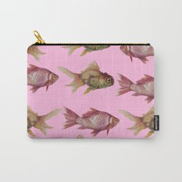 fish pink  Carry-All Pouch