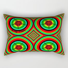 Trippy Satanic Rectangular Pillow