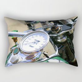 Motorcycle Rectangular Pillow