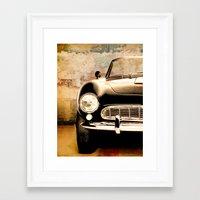 bmw Framed Art Prints featuring bmw by Fernando Vieira