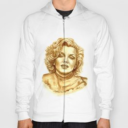 Marilyn in Coffee Hoody