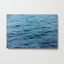 OCEAN - SEA - WATER - WAVES Metal Print