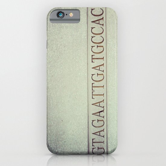DNA strand, science love iPhone & iPod Case