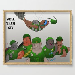 Seal Team Six Serving Tray