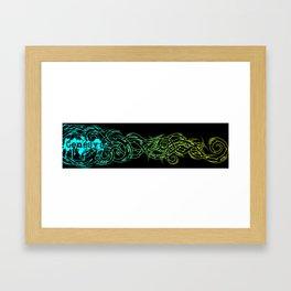 Colorful Tribal Framed Art Print