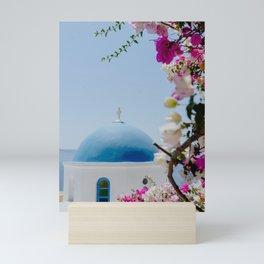 Santorini, Greece Views Mini Art Print