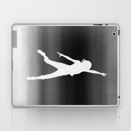 Body Movin - Touch the Sky B&W Inverse Laptop & iPad Skin