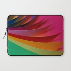 Colorful Paper Laptop Sleeve