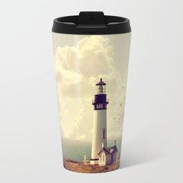 Vintage Lighthouse Travel Mug