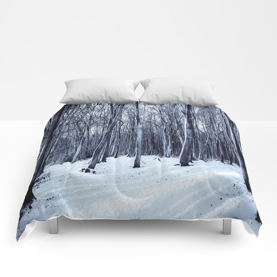 Black Winter Comforters