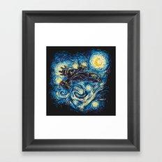 Starry Flight (Serenity) Framed Art Print