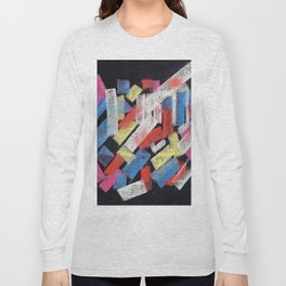 Multicolor construct Long Sleeve T-shirt