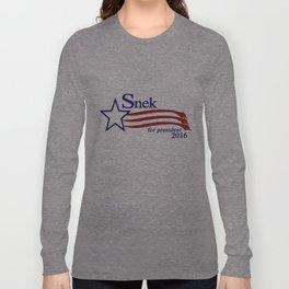 Snek For President 2016 Long Sleeve T-shirt