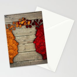 Communication and relationship Stationery Cards